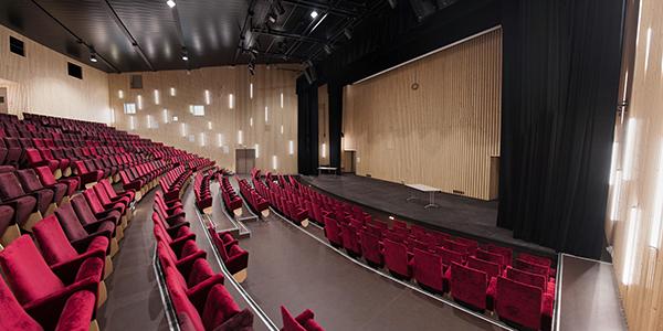 Main auditorium for plenary lectures